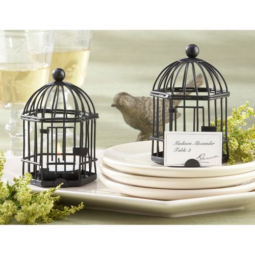 Love Songs Birdcage Tealight Holder