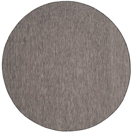 "Safavieh Courtyard 6'7"" Round Power Loomed Rug - image 5 of 5"