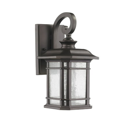 CHLOE Lighting FRANKLIN Transitional 1 Light Rubbed Bronze Outdoor Wall Sconce 13