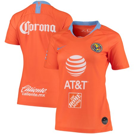 d51be983672 Club America Nike Women s 2018 19 Stadium Third Jersey - Orange