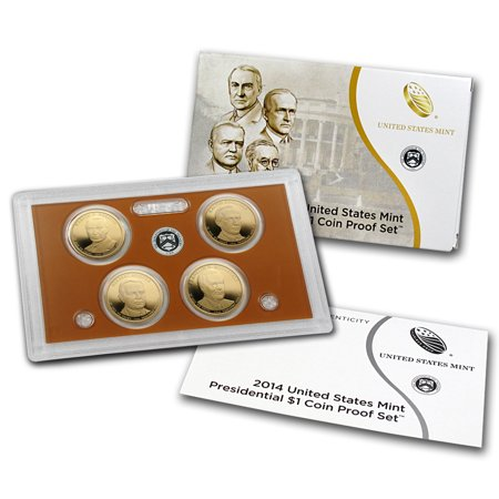 2014 Presidential Dollar Proof Set