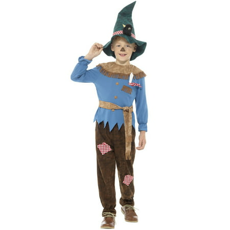 Patchwork Scarecrow Child Costume (Kids Scarecrow Costume)