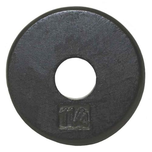 USA Sports Black Standard Weight Plate (8.5 in. Dia x 2 in. H (10 lbs.))