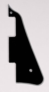 Black Pickguard for Gibson Les Paul by AllParts