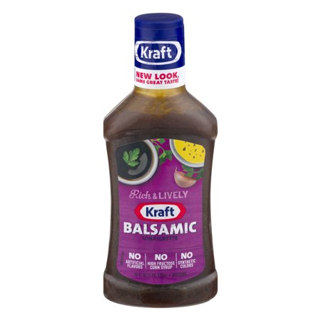 Kraft Salad Dressing Balsamic Vinaigrette, 16 FL OZ (473ml ...