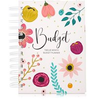 Monthly Budget Book Planner Bill Organizer Home Financial Planner Organizer with 24 Pockets for Receipts and Bills, Accounts Book for Tracking Income Home Expenditure Expense, 5 x 7 inches
