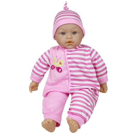 Lissi Dolls - Talking Baby 15 Inches, Pink