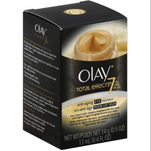 OLAY Total Effects 7-in-1 Anti-Aging Booster Eye Transforming Cream 0.50 oz (Pack of 6)