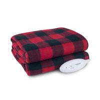 "Biddeford Blankets Comfort Knit Fleece Heated Electric Throw Blanket, 60"" x 50"", Multiple Colors Available"