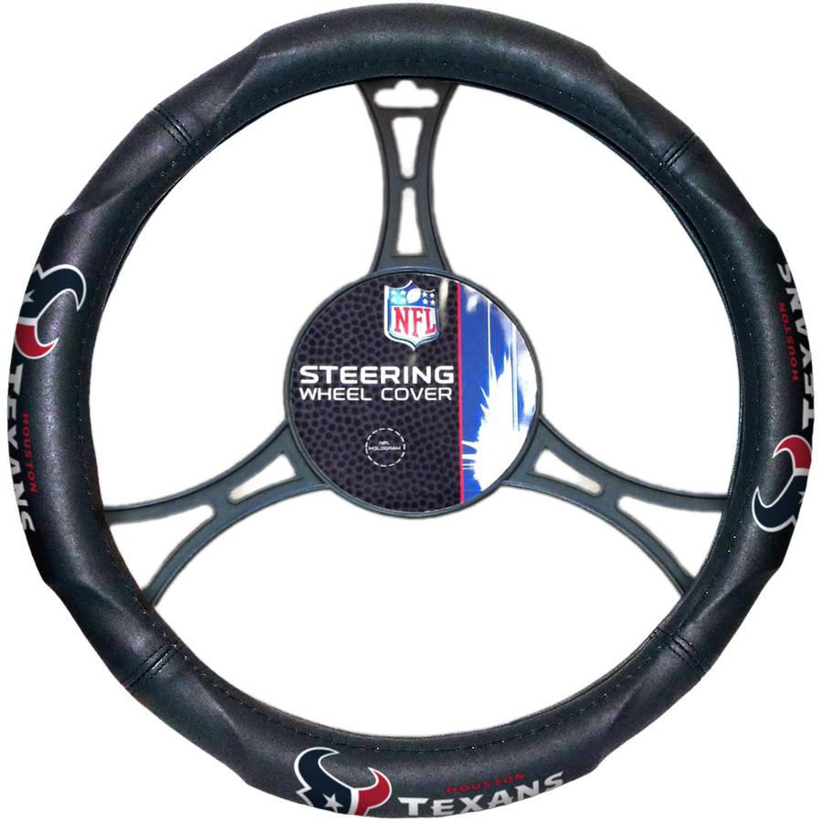 NFL Houston Texans Steering Wheel Cover