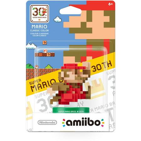 Mario Classic Color 30Th Anniversary Series Amiibo  Nintendo Wiiu Or New Nintendo 3Ds