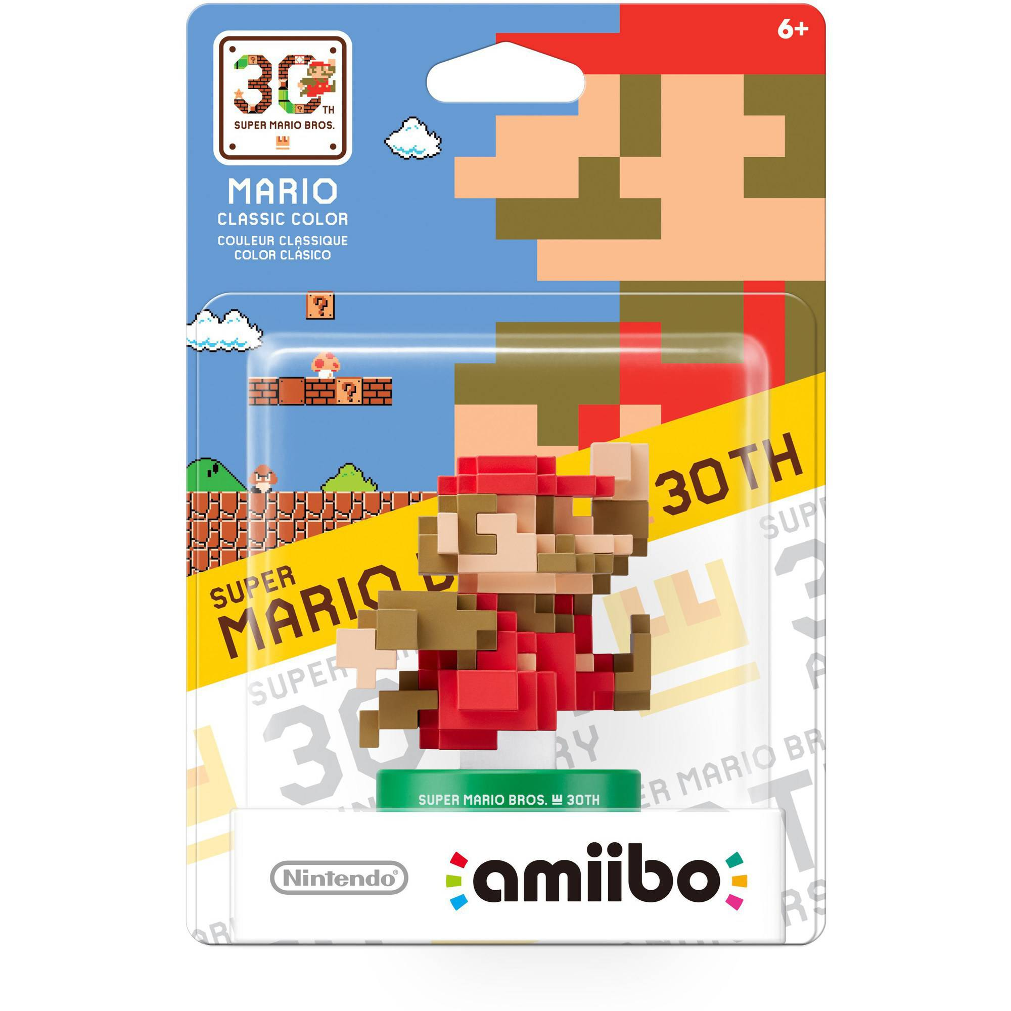 Mario Classic Color 30th Anniversary Series amiibo (Nintendo WiiU or New Nintendo 3DS)