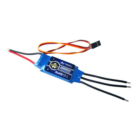 2-Pack of ZTW 20A Brushless ESC for RC Airplanes & Helicopters