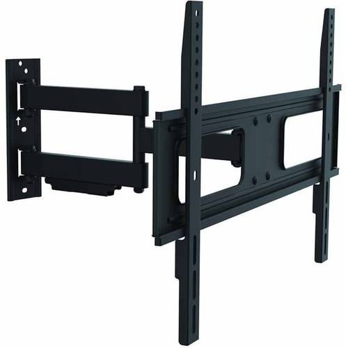 Inland 05413 Economy Full-Motion TV Wall Mount for Curved and Flat Panel TVs up to