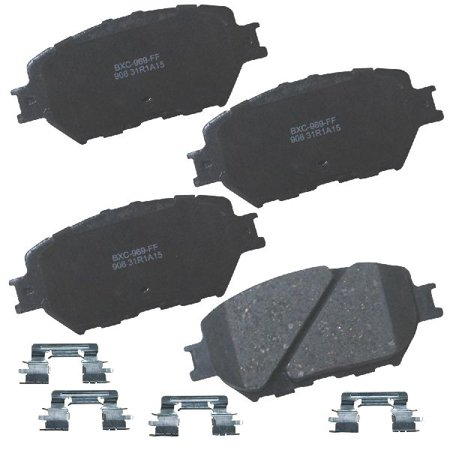 Go-Parts OE Replacement for 2002-2006 Toyota Camry Front Disc Brake Pad Set  for Toyota Camry (Base / LE / SE / XLE)
