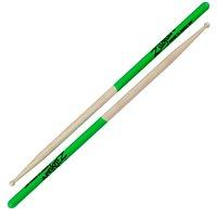 Zildjian Super 7A Maple Green Dip Drumsticks, Lightweight alternative to Hickory wood By Avedis Zildjian Company Ship from US