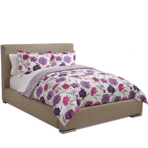 Abbie Rose Floral Reversible Comforter Set