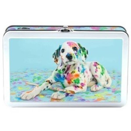 FIND IT TIN PENCIL BOX, PAINTED