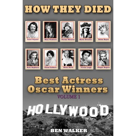 How They Died: Best Actress Oscar Award Winners Vol. 1 - (Best Actress Oscar Winner Patricia)