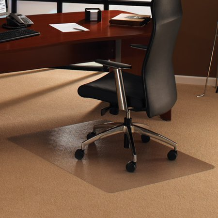 cleartex ultimat rectangular chair mat polycarbonate for low