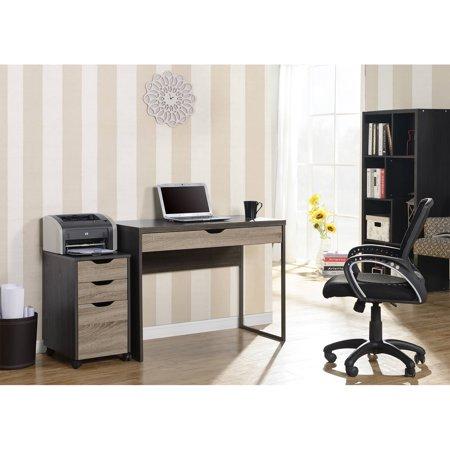 Homestar 1-Drawer Laptop Desk, Reclaimed Wood (1 Drawer Laptop Desk Reclaimed Wood Homestar)