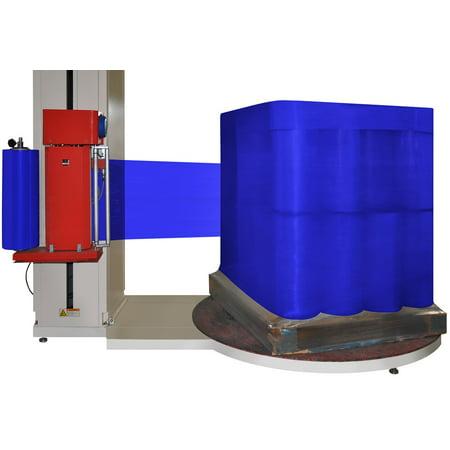 """Cast Dark Blue Color Machine Film Stretch Wrap 20"""" x 5000 feet x 63 ga 10 Rolls"""