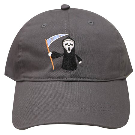 City Hunter C104 Halloween Scary Movie Cotton Baseball Caps - Dark Gray (Scary Halloween Movie Music)