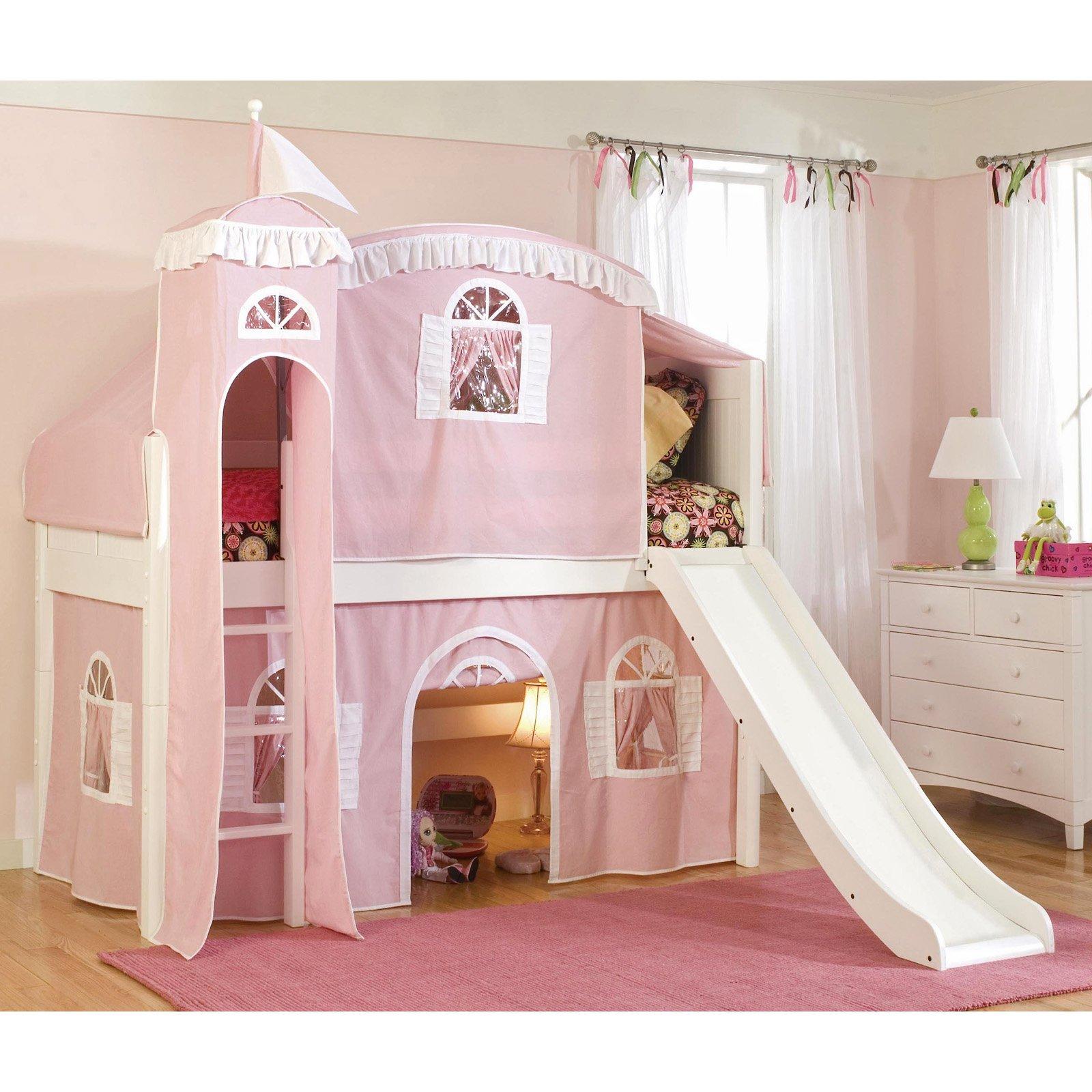 Cottage Deluxe Low Loft Tent Bed