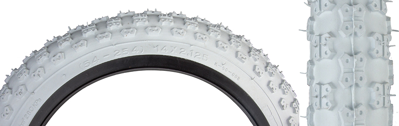 Bk//Blk Bmx Wire Sunlite Mx3 Tires 40 14X2.125-254