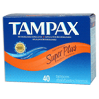 Tampax Tampons With Flushable Applicator, Super Plus Absorbancy - 40 Each