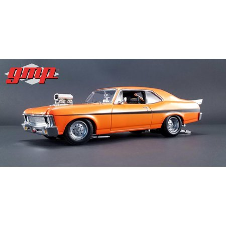 1968 Chevrolet Nova Orange