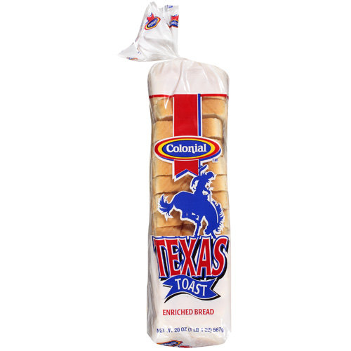 Colonial Texas Toast Enriched Bread, 20 oz