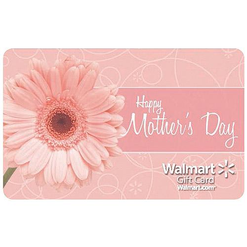 Mother's Day Pink Flowers Walmart Gift Card - Walmart.com