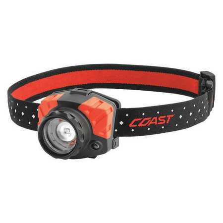COAST FL85 LED Headlamp,Dual Color,540 lm G6129551