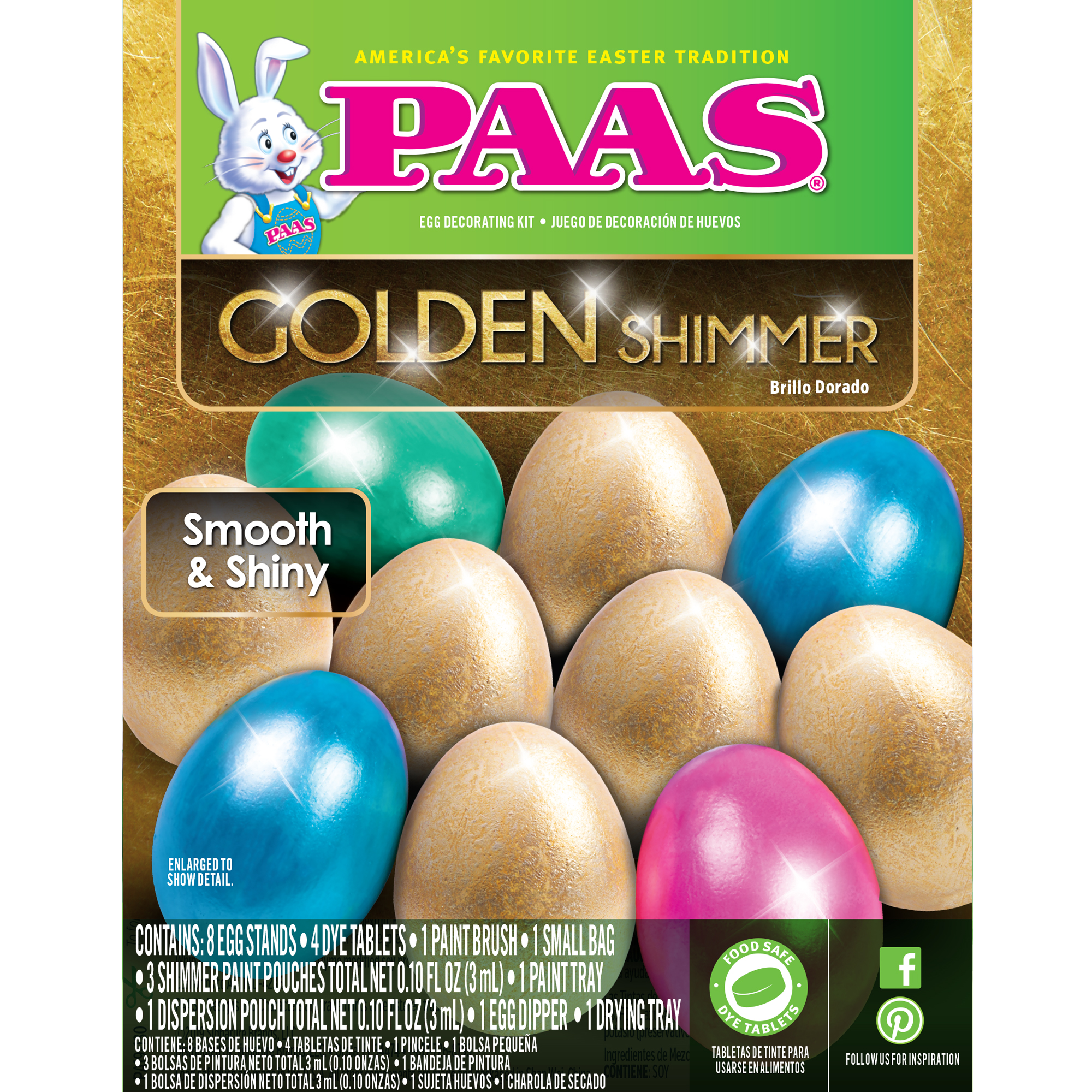 Set Of 3 Simply Bunnies Paas Easter Egg Coloring Kit
