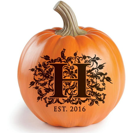 Personalized Halloween Pumpkins, For The Family - Halloween Pumpkin Ideas