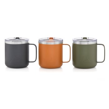 3-Pack Ozark Trail 12-oz. Vacuum-Insulated Stainless Steel Mug