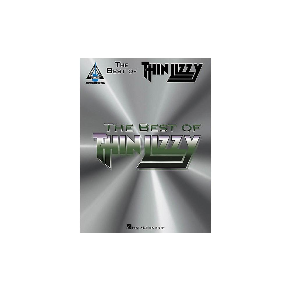 Hal Leonard The Best Of Thin Lizzy Guitar Tab Songbook Walmart