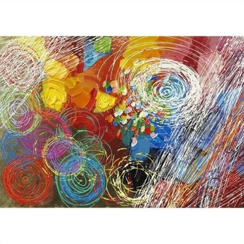 Yosemite Home Decor Revealed Artwork Cyclonic Abstraction I Original Painting on Wrapped Canvas