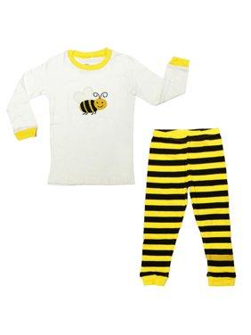 Dabuyu Bumble Bee Children's Pajamas, 18 - 24 Mos