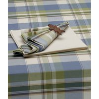 """Lake House Plaid Tablecloth 52 x 52"""" by Design Imports"""
