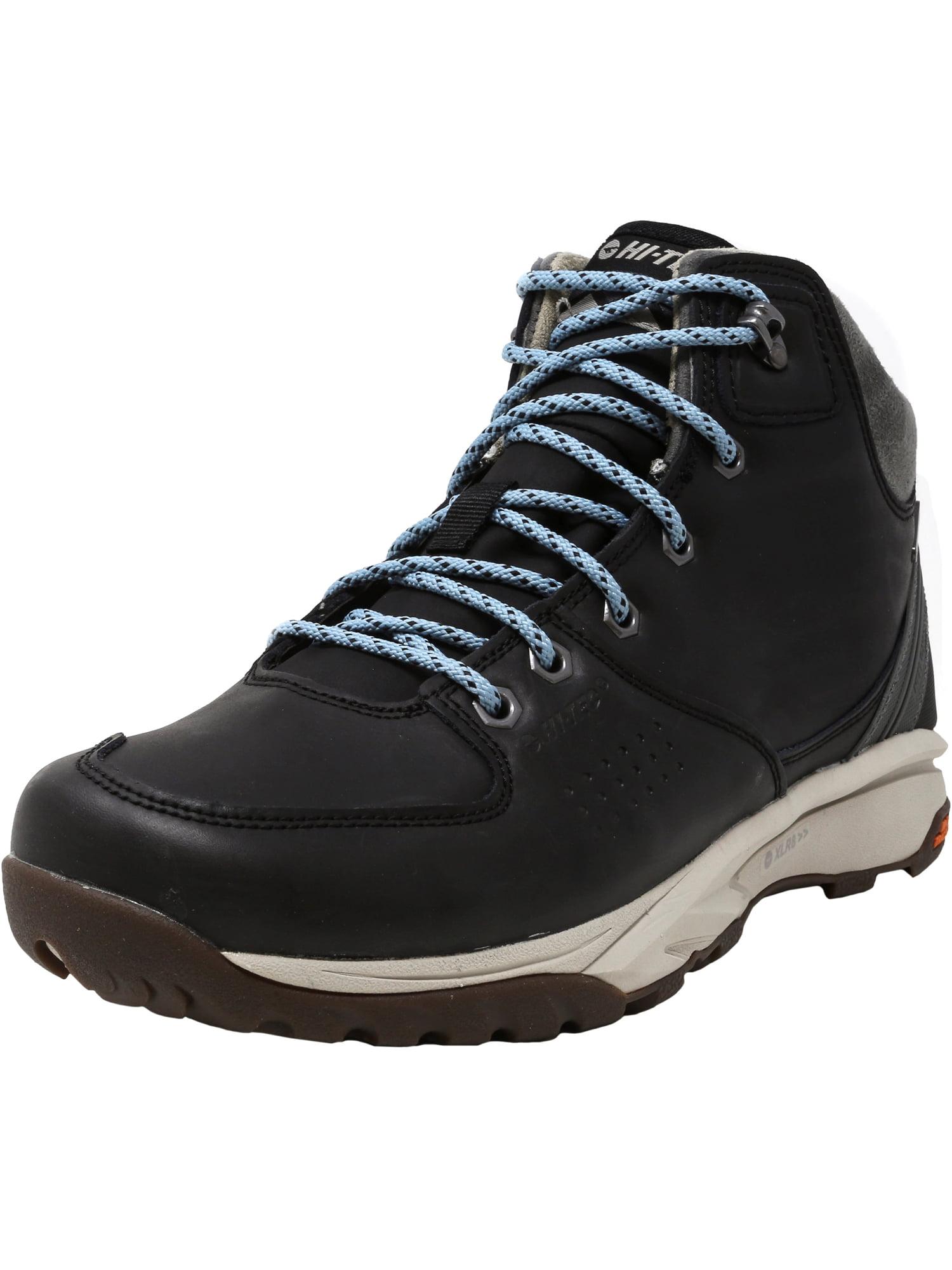 Hi-Tec Women's Wild-Life Lux I Waterproof Black High-Top Leather Hiking Boot 7.5M by Hi-Tec