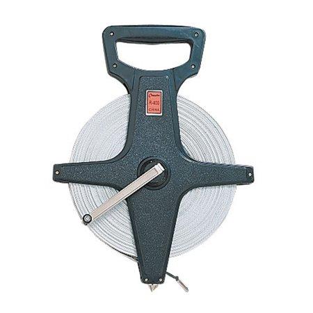 Open Reel Long Steel Tape - 400' Open Reel Measuring Tape