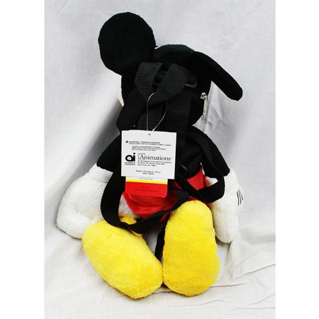 Plush Backpack - Disney - Mickey Mouse Soft Doll - image 1 of 2