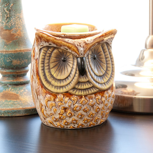 Scentsationsals Full-Size Wax Warmer, Spotted Owl