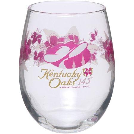 - Kentucky Oaks 145 15oz. Lily Stemless Wine Glass - No Size