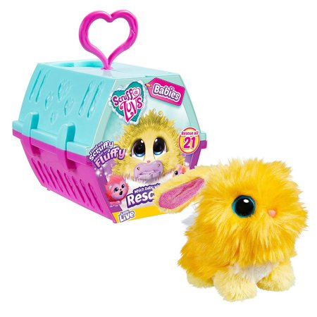 Little Live Pets Scruff A Luvs Babies Mini Plush Surprise Mystery Pack Pink Baby Gund Plush