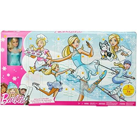 Barbie Careers Advent Calendar Christmas Countdown Playset 24 Doors & Doll - Christmas Barbie