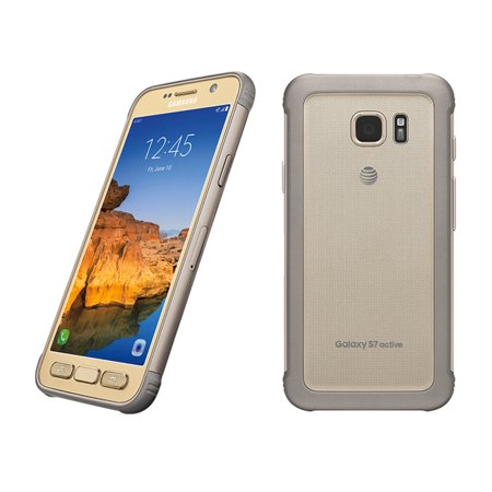At & T Samsung Gs7 Active Gold