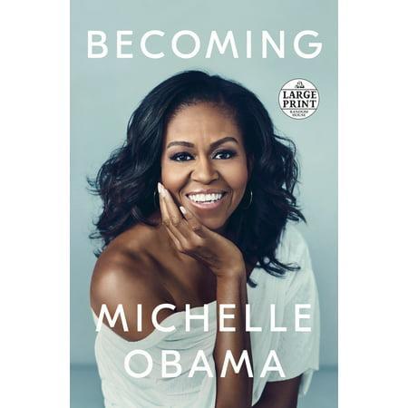 Becoming - Large Print - Obama Wine